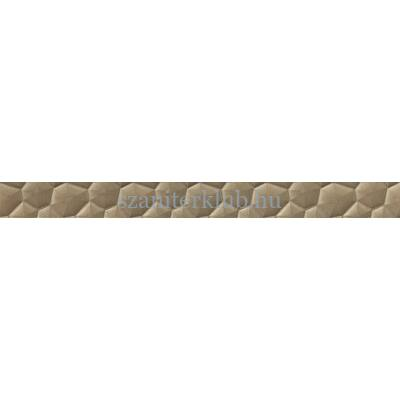 cersanit calm organic conglomerate copper border 5,5x59,8 cm