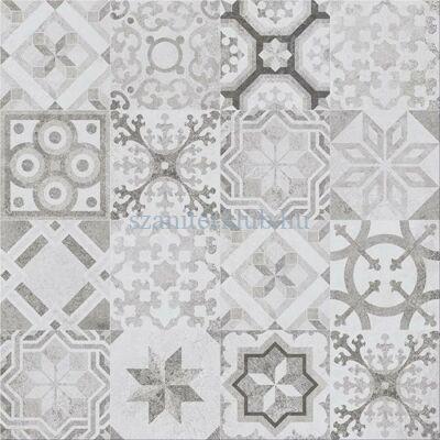cersanit concrete style patchwork padlódekor 42x42 cm