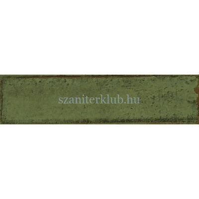 Cifre alchimia olive brillo csempe 7,5x30 cm